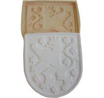 Molds for casting gypsum