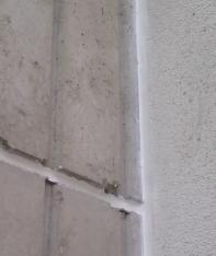 Dilatační spáry tmelené akrylátovým tmelem Akrotmel S
