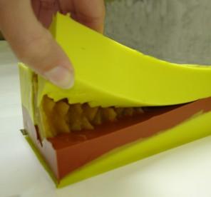 Pigmentová pasta pro probarveni kaučuku na formy
