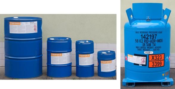 Redukční činidlo Synhydrid - obaly